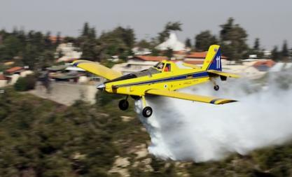 Israel Firefighting Squadron Acquires More Air Tractor AT-802F Firebombers