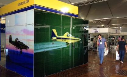 Air Tractor Crosses the Equator For Fall Ag Conventions